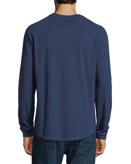 Slub Cotton Long-Sleeve T-Shirt
