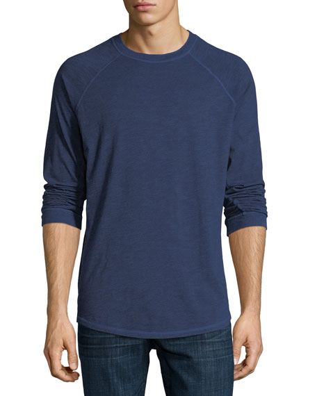 The Good Man Brand Slub Cotton Long-Sleeve T-Shirt