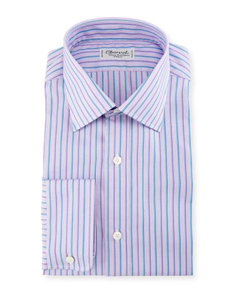 Alt-Striped Dress Shirt