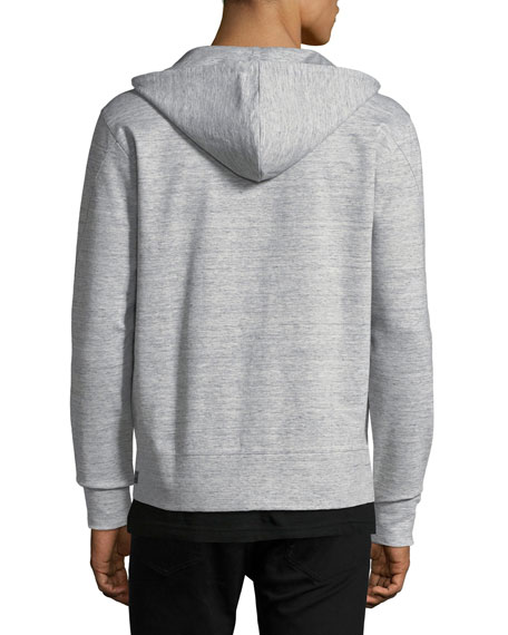 Pro Zip Hoodie in Microlight Linen Tech Knit