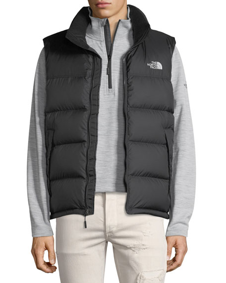 The North Face Nupste Quilted Down Vest, TNF