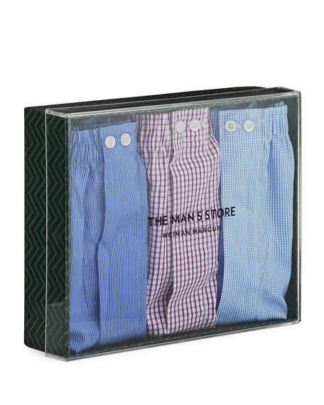 Neiman Marcus 3-Pack Boxer Set