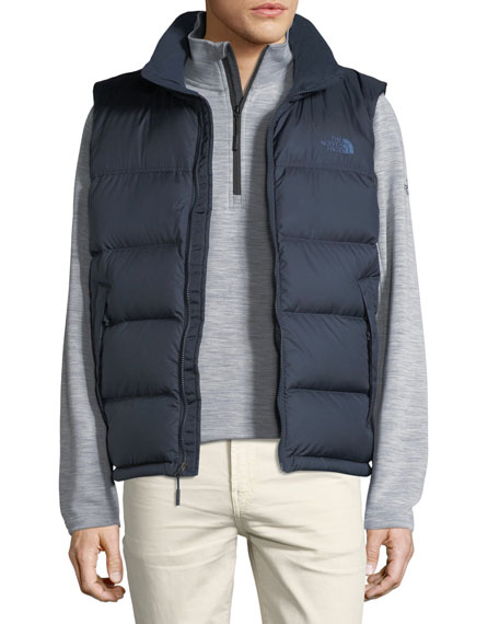 Nupste Quilted Down Vest, Urban Navy