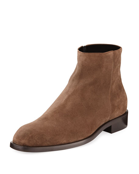 Men's Vinicio Distressed Suede Chelsea Boot