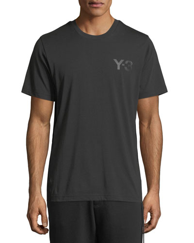 Classic Cotton Jersey Logo T-Shirt, Black