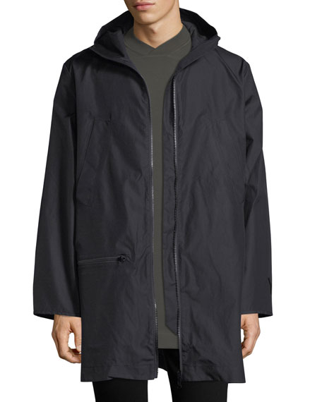 Y-3 Reversible Long Canvas Jacket