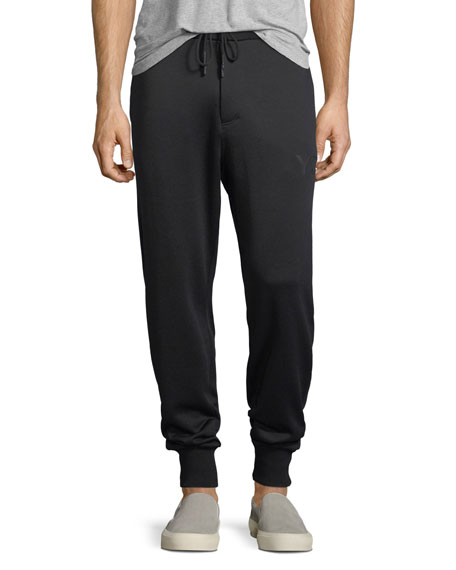 Cotton French Terry Logo Jogger Pants