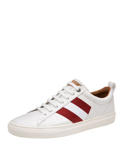 Helvio Leather Low-Top Sneaker
