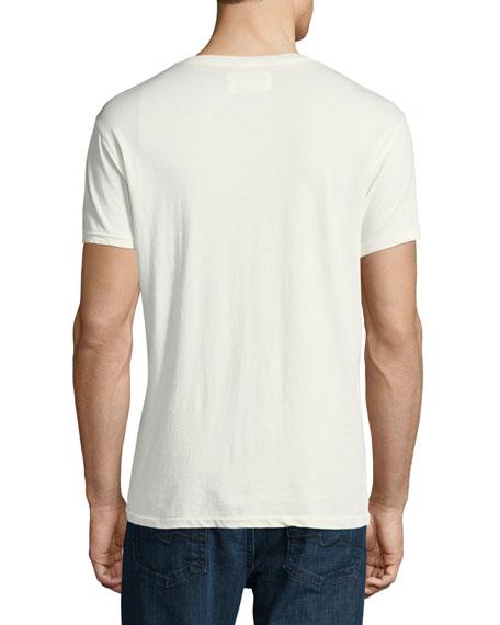 Lazy Palms Cotton V-Neck T-Shirt