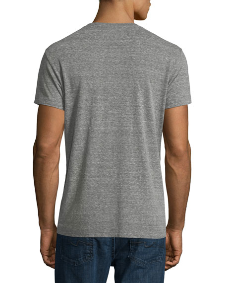 Las Palmas Heathered Crewneck T-Shirt