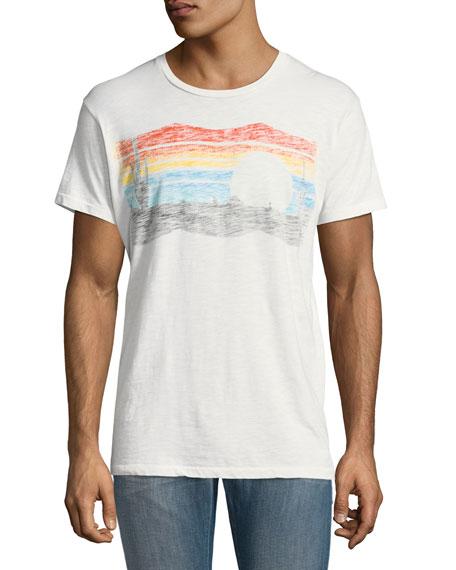 Sol Angeles Desert Shadow Crewneck T-Shirt