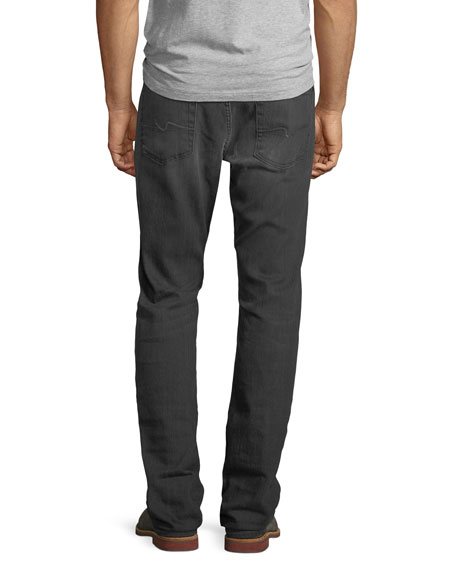 Men's Straight-Leg Airweft Denim Jeans, Halide Gray