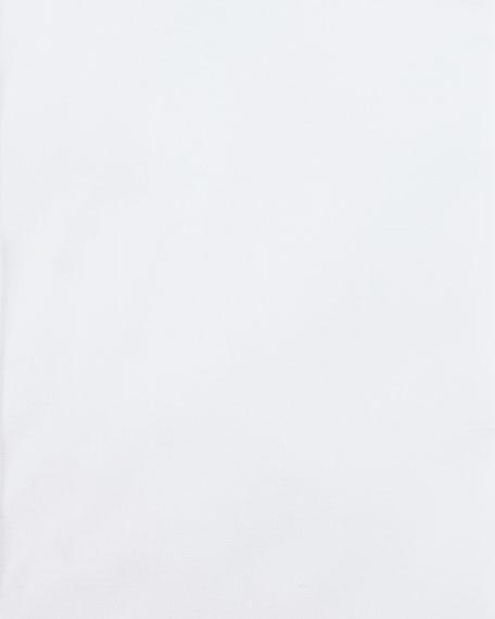 Poplin French-Cuff Dress Shirt, White