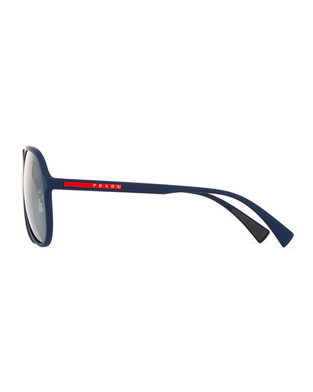 Linea Rossa Men's Pilot Sunglasses