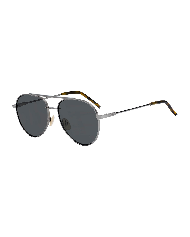 4c1820171fe5 Fendi Air Men s Metal Aviator Sunglasses