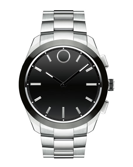 Movado Bold 44mm Bold Connected II Smartwatch, Silver