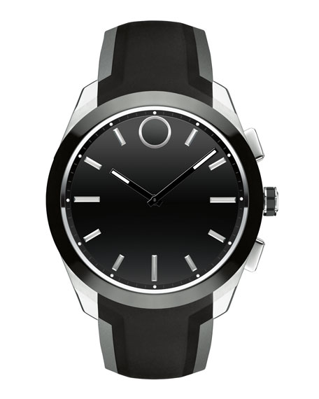 Movado Bold 44mm Bold Connected II Smartwatch, Black