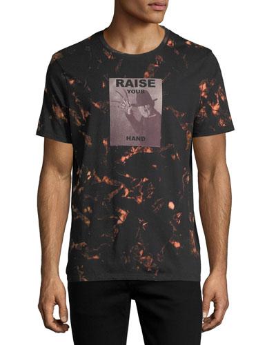 Tie-Dye Short-Sleeve Freddy Krueger T-Shirt