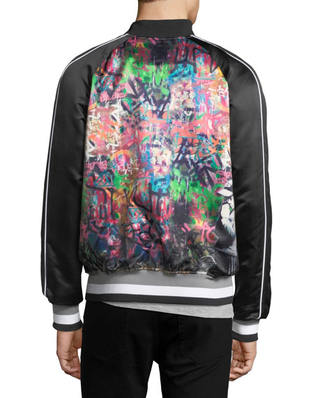 Banksy Pray Bomber Jacket