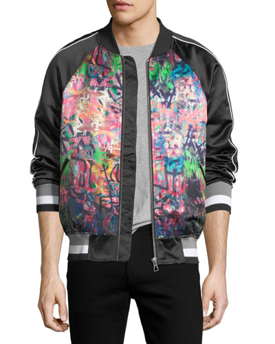Banksy Pray Bomber Jacket