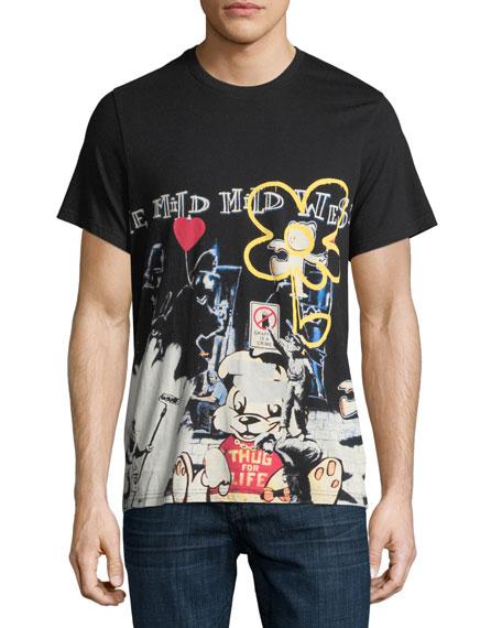 Eleven Paris Stensalltee Graphic T-Shirt