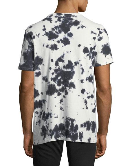 Deep-Dye Ink Blot Graphic T-Shirt