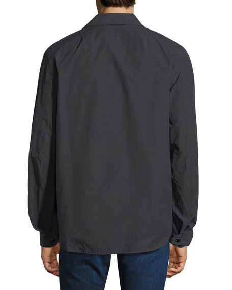 Flight Cotton Shirt Jacket