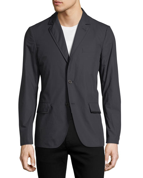 Lightweight Chino Two-Button Jacket