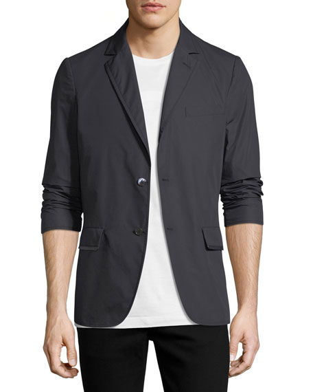 Men's Lightweight Chino Two-Button Jacket