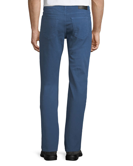 Men's Garment-Dyed 5-Pocket Denim Pants