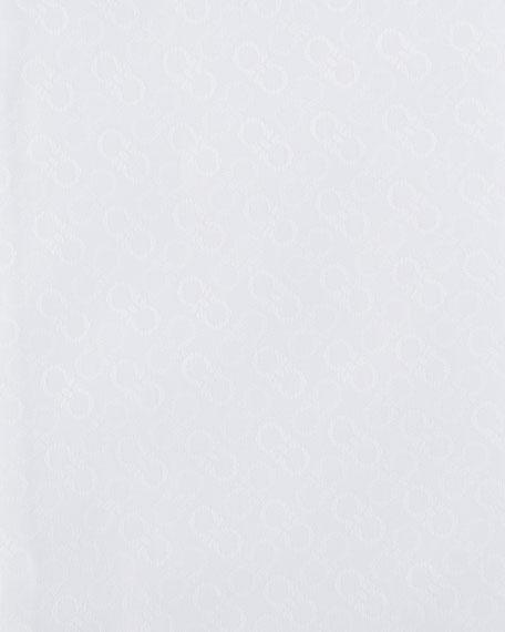 Men's Cotton Gancini-Jacquard Sport Shirt