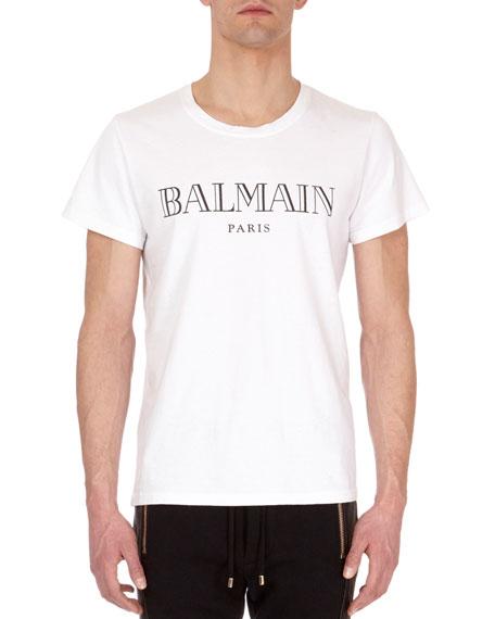 Balmain Classic Cotton Logo T-Shirt