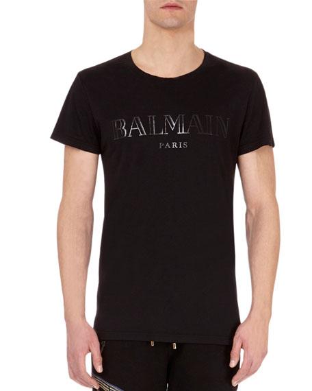 Balmain Classic Metallic Logo T-Shirt