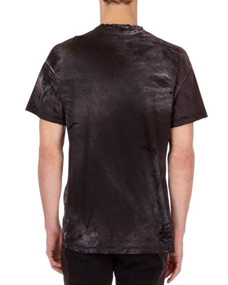 Distressed Tiger Head Logo T-Shirt