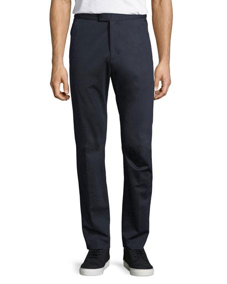 Compact Ponte Slim-Straight Pants