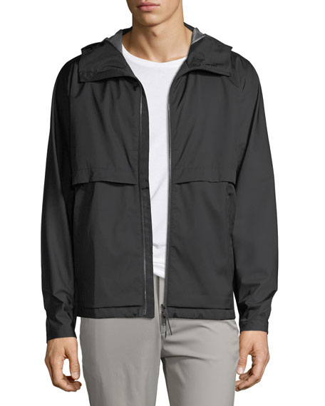 Theory  DRAFTBREAK HOOD TECH STRETCH JACKET