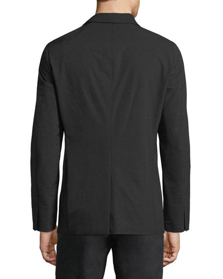 Tailored Semi-Tech Wool Blazer