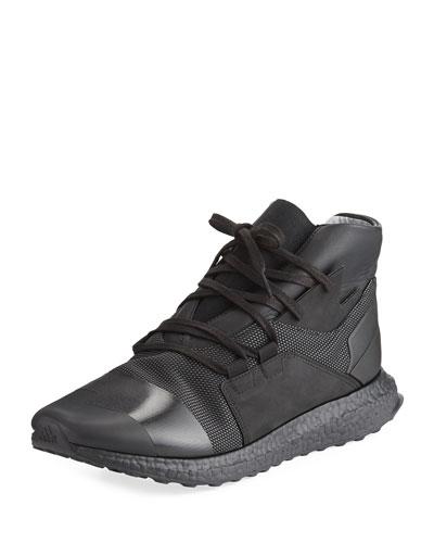 Men's Kozoko High-Top Sneaker, Black/White