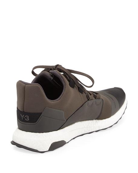 Kozoko Colorblock Low-Top Sneaker, Green/Black