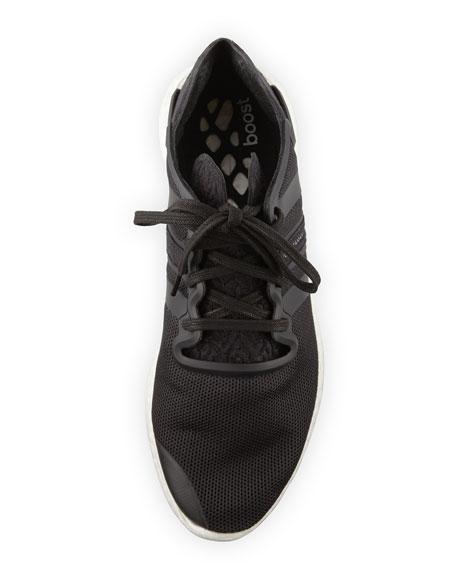 Men's Y-3 Yohji Run Sneaker, Black/White