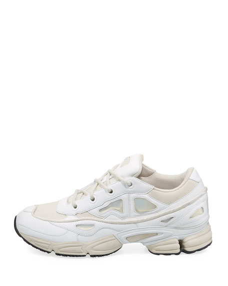 adidas by Raf Simons Men's Ozweego III Trainer Sneaker, White