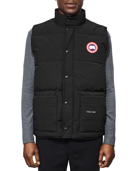 Freestyle Crew padded vest - Blue Canada Goose Cheap Really Footaction Cheap Price J4hhMJ