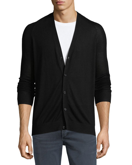 Admiral Banes Silk-Cashmere Cardigan