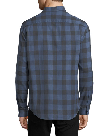 Brushed Check Cotton Shirt