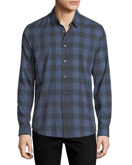 Brushed Check Cotton Shirt