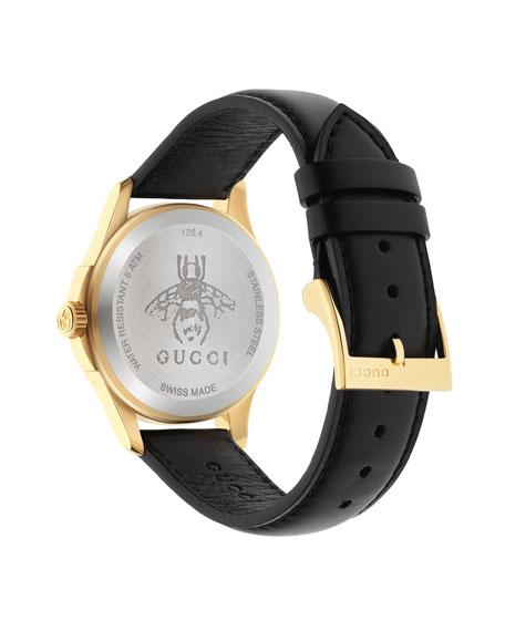 38mm Le Marché Des Merveilles Watch w/ Leather Strap