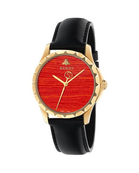 Gucci 38mm Le Marché Des Merveilles Watch w/
