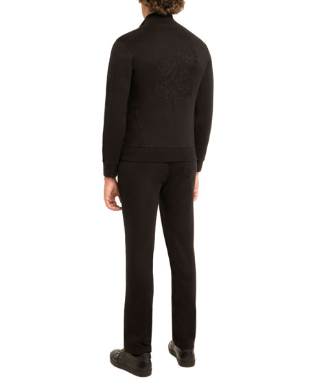 JOGGER PANT WITH OPEN BOTTOM