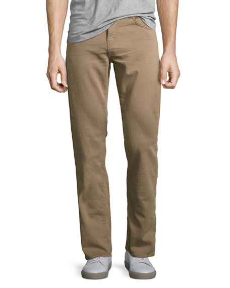 Kane Slim-Fit Luxe Terry Jeans, Keckley