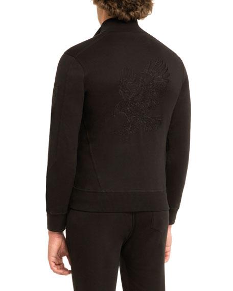 Embroidered Eagle Track Jacket